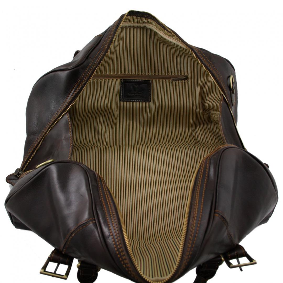 5d9704812 Tuscany Leather Cestovná kožená taška BERLIN -