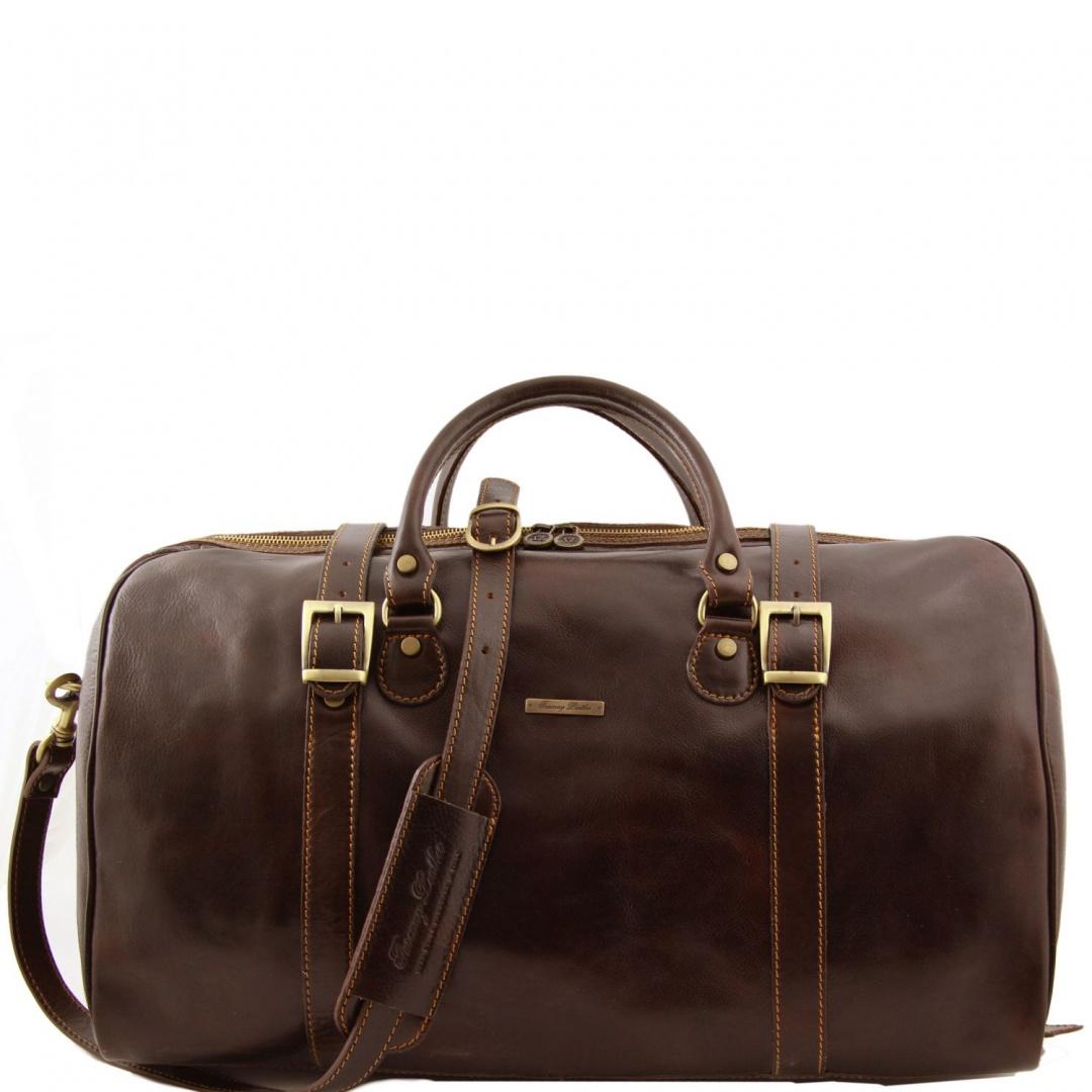 67d21715f Cestovná kožená taška BERLIN Tuscany Leather, Cestovné tašky kožené