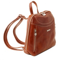 Tuscany Leather Kožený ruksak Manila -