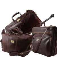 Tuscany Leather  Cestovný set LUXURIOUS