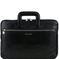 Tuscany Leather Caserta - business taška - Black