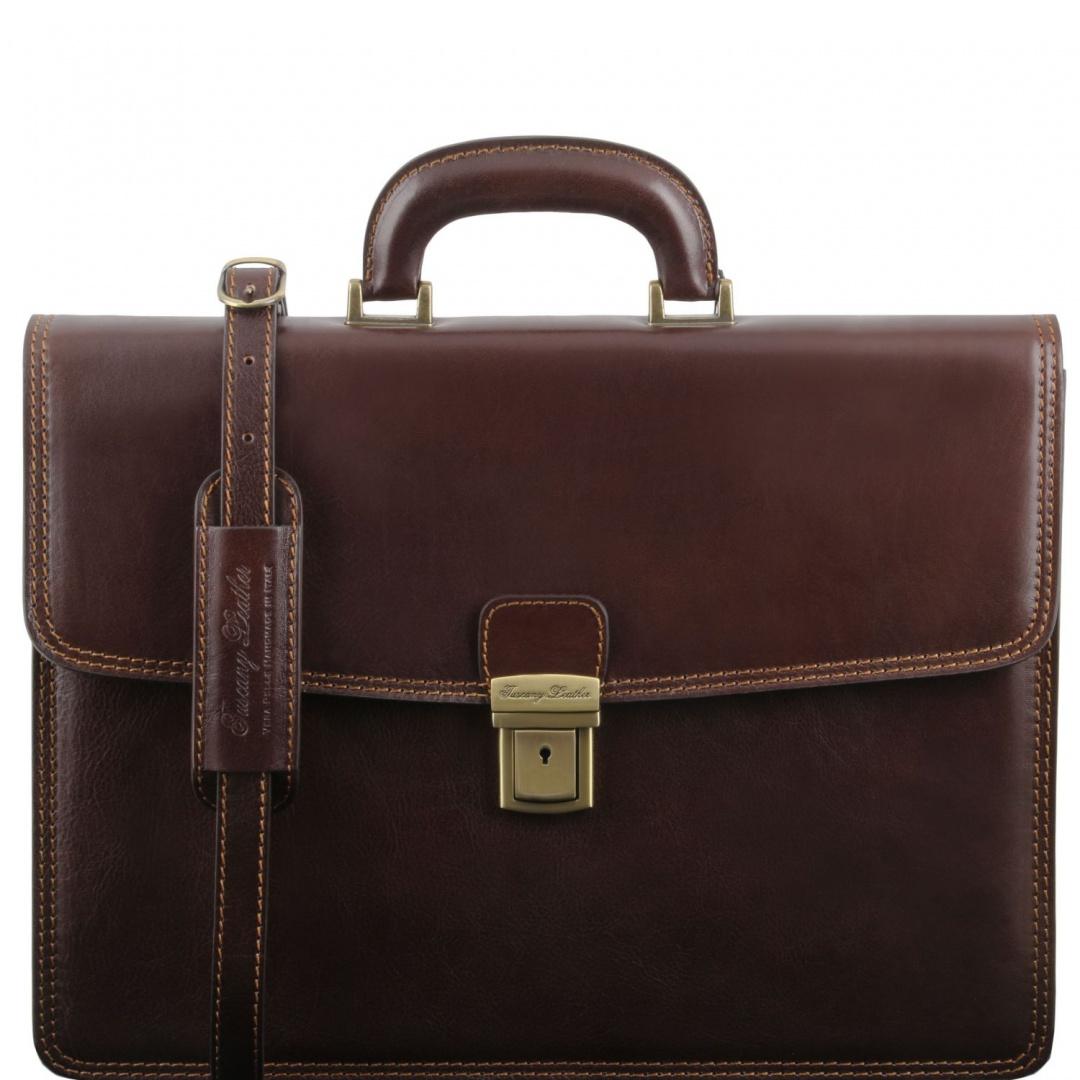3501f9d3cc Amalfi - pánska kožená biznis taška Tuscany Leather
