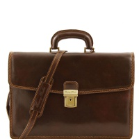 Tuscany Leather Taška AMALFI - Dark Brown