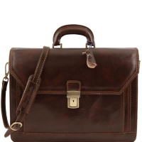 Tuscany Leather Taška ROMA - Dark Brown