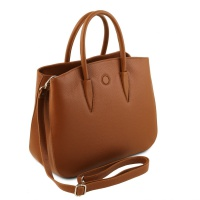 Tuscany Leather Camelia - Leather handbag -
