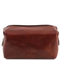 Tuscany Leather Kozmetická taška SMARTY - large - Brown