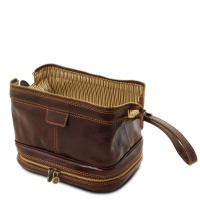 Tuscany Leather Patrick - Leather toilet bag -
