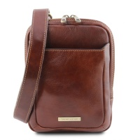 Tuscany Leather  Mark - pánska kožená Crossbody taška