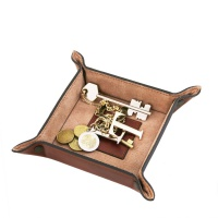 Tuscany Leather Exclusive leather tidy tray small size -