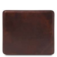 Tuscany Leather Leather mouse pad - Dark Brown