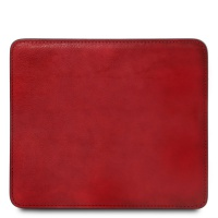 Tuscany Leather Leather mouse pad - Red