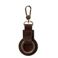 Tuscany Leather Leather key holder - Dark Brown