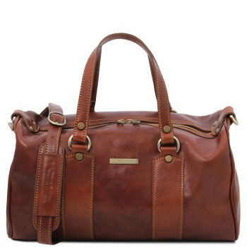 Tuscany Leather Lucrezia - Leather maxi duffle bag