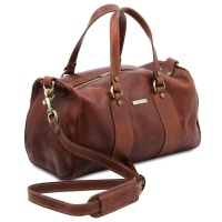 Tuscany Leather Lucrezia - Leather maxi duffle bag -