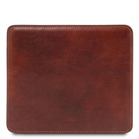 Tuscany Leather Leather mouse pad - Brown