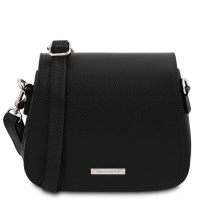 Tuscany Leather Jasmine - Leather shoulder bag - Black