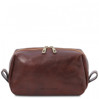 Tuscany Leather Owen - Leather toilet bag