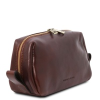 Tuscany Leather Owen - Leather toilet bag -