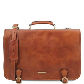 Tuscany Leather Ancona - Leather messenger bag