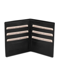 Tuscany Leather Exclusive 2 fold leather wallet for men -