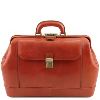 Tuscany Leather Leonardo - Exclusive leather doctor bag - Honey
